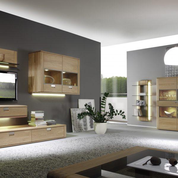 Wohnzimmer- und Speisezimmerprogramm, Massivholz