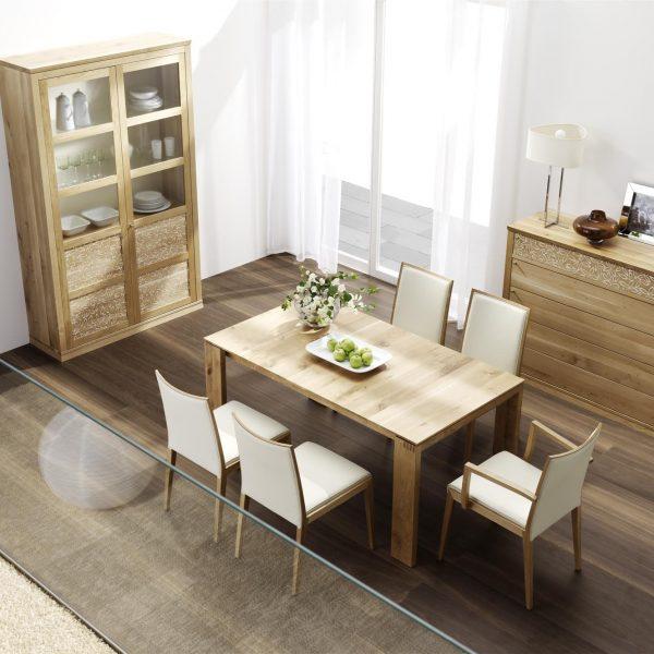 Speisezimmer Rio, in verschiedenen Holzarten