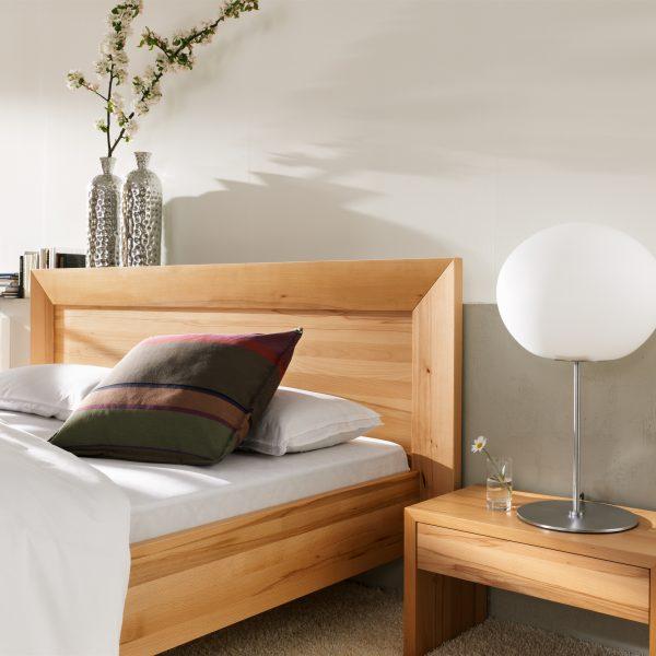 Schlafzimmer Rio, Kernbuche massiv, geölt