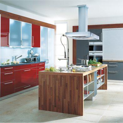 moderne Küche Cambia in Mattlack und Glanzlack