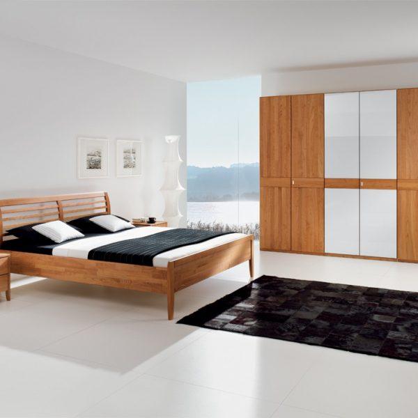 Schlafzimmer Erle massiv (andere Holzarten möglich)