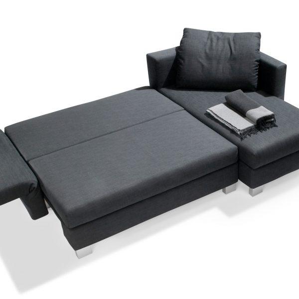 Sofa Good Life, als Wohnlandschaft oder Schlafsofa ausziehbar