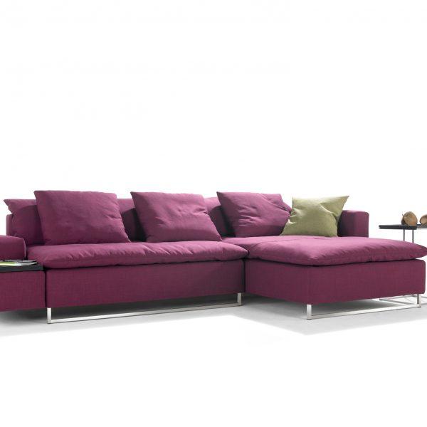 Sofa Isla, als Wohnlandschaft oder Schlafsofa ausziehbar