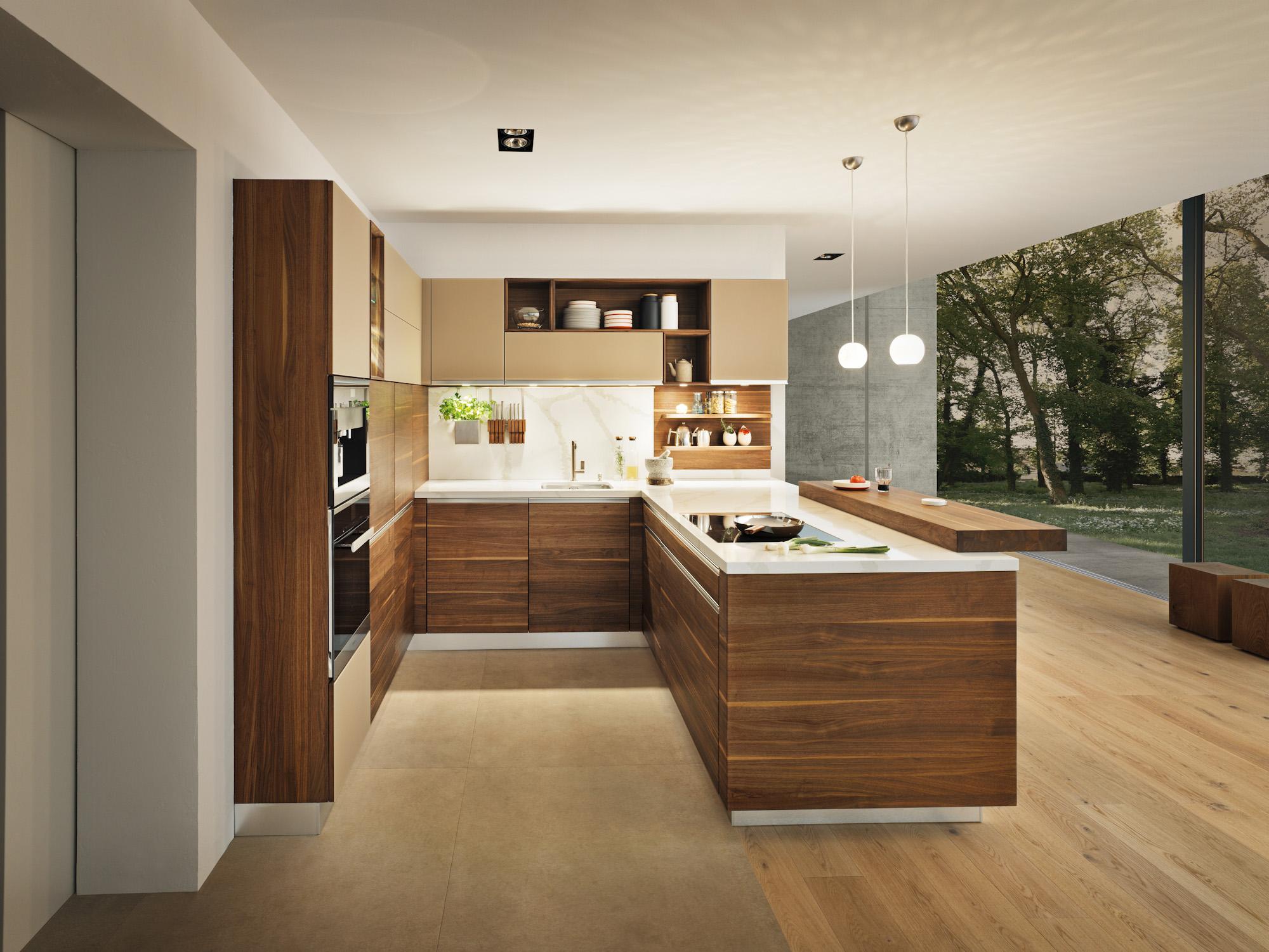 Massivholzküchen, Hochglanzlack, Landhausstil - Möbel Morschett