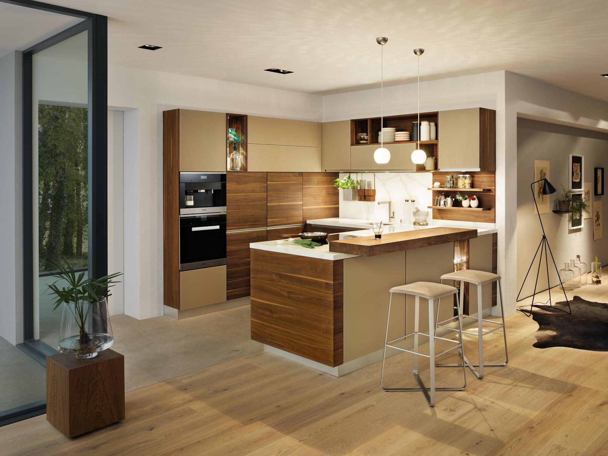 massivholzküchen, hochglanzlack, landhausstil - möbel