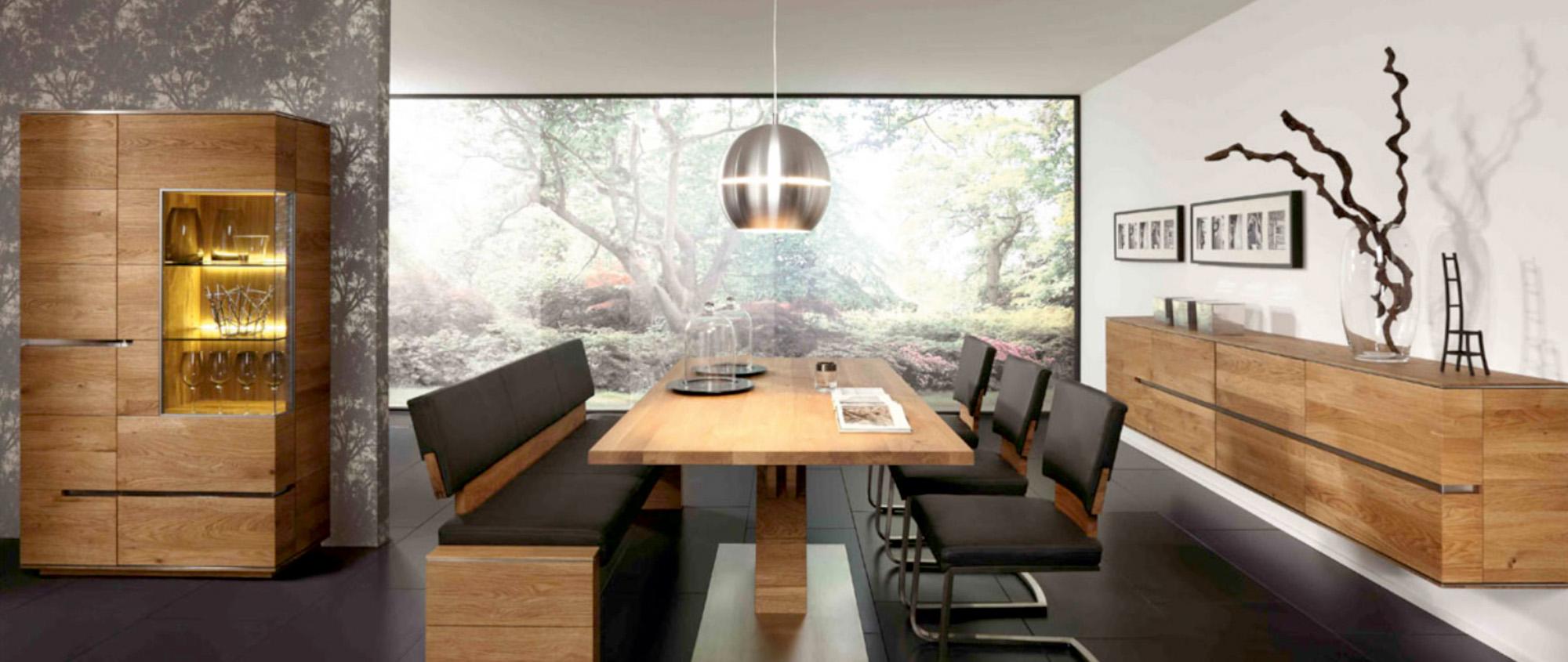 M bel morschett speisezimmer for Esszimmer rustikal modern