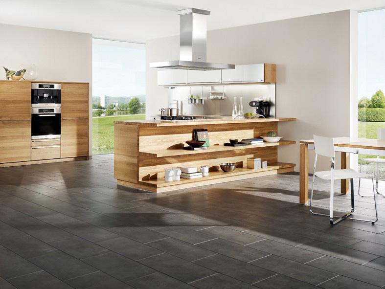 Massivholzküchen Hochglanzlack Landhausstil Möbel Morschett